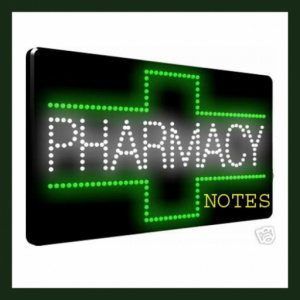 B.Pharma Pharmacy Notes