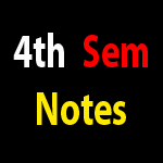 B Pharma Pharmacy 4th Semester Notes