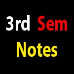 B Pharma Pharmacy 3rd Semester Notes